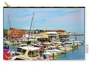 Portland Maine Harbor Carry-all Pouch
