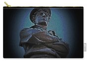 Portrait 33 American Civil War Carry-all Pouch by David Dehner