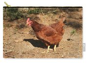 Portrait Of A Chicken Carry-all Pouch