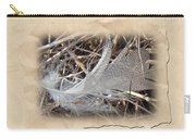 Portrait Of A Feather Carry-all Pouch