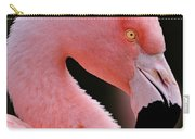 Portrait Of A Flamingo Carry-all Pouch