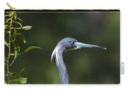 Portrait Of A Heron Carry-all Pouch