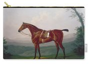 Portrait Of A Race Horse Carry-all Pouch by Daniel Clowes