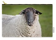Portrait Of A Sheep Carry-all Pouch