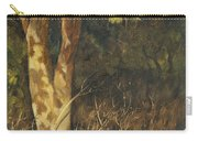 Portrait Of A Tree Trunk Carry-all Pouch