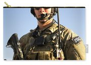 Portrait Of A U.s. Air Force Joint Carry-all Pouch