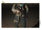 Portrait Of A U.s. Contractor Carry-all Pouch