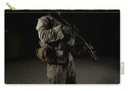Portrait Of A U.s. Marine Carry-all Pouch
