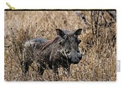 Portrait Of A Warthog Carry-all Pouch