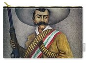 Portrait Of A Zapatista Carry-all Pouch