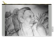 Portrait Of Ana Carry-all Pouch