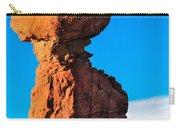 Portrait Of Balance Rock Carry-all Pouch