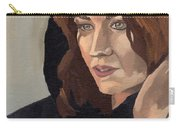 Portrait Of Becca 2 Carry-all Pouch