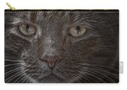 Portrait Of Cutio The Cat Carry-all Pouch