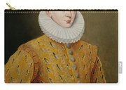 Portrait Of James I Of England And James Vi Of Scotland  Carry-all Pouch