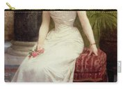 Portrait Of Madame Olry-roederer Carry-all Pouch by William-Adolphe Bouguereau