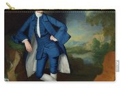 Portrait Of Man Carry-all Pouch by George Romney