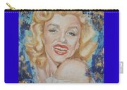 Portrait Of Marilyn Monroe Carry-all Pouch