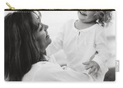 Portrait Of Mother And Daughter Carry-all Pouch
