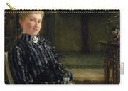 Portrait Of Mrs Ralph Sneyd Carry-all Pouch