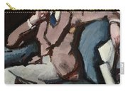 Portrait Of Willie Peploe Carry-all Pouch