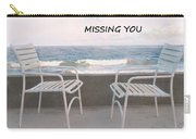 Poster Missing You Carry-all Pouch