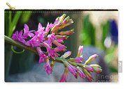 Posteredged Flowers Carry-all Pouch