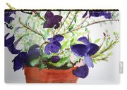Pot Of Flowers One Carry-all Pouch