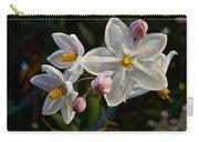 Potato Vine Blossom Carry-all Pouch