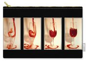 Pouring Red Wine Carry-all Pouch by Svetlana Sewell