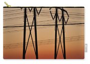 Power Towers At Sundown Carry-all Pouch