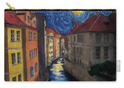 Prague By Moonlight Carry-all Pouch