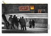 Prague Underground Station Stairs Carry-all Pouch by Stelios Kleanthous