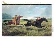 Prairie Battle, 19th Century Carry-all Pouch