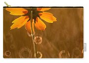 Prairie Coreopsis And Dewdrops Carry-all Pouch