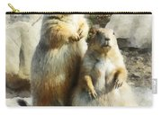 Prairie Dog Formal Portrait Carry-all Pouch