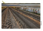 Prairie Road Storm Clouds Mud Tracks Carry-all Pouch