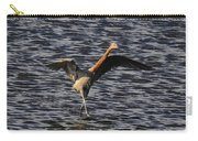Prancing Heron Carry-all Pouch