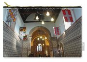 Praying At The St Mary Church Inside Dover Castle In England Carry-all Pouch