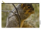 Praying Squirrel Carry-all Pouch