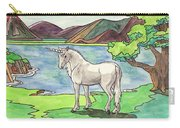 Prehistoric Unicorn Carry-all Pouch