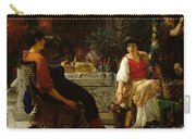 Preparations For The Festivities Carry-all Pouch by Sir Lawrence Alma-Tadema