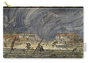 Kansas Cyclone, 1887 Carry-all Pouch