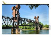 Prescott Lift Bridge Carry-all Pouch by Kristin Elmquist