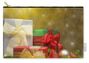 Presents Decorated With Christmas Decoration Carry-all Pouch