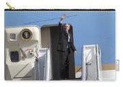 President George Bush Waves Good-bye Carry-all Pouch