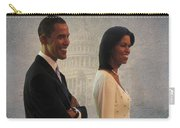 President Obama And First Lady Carry-all Pouch by David Dehner