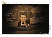 President Reagan Carry-all Pouch