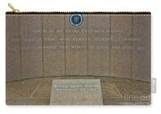 President Ronald Reagan Resting Place Carry-all Pouch