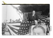 President Taft Giving A Speech In Augusta - Georgia C 1910 Carry-all Pouch